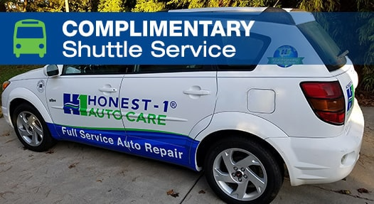 Complimentary Local Shuttle Service | Honest-1 Auto Care Spring Hill